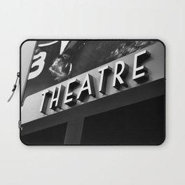 Theatre Sign Laptop Sleeve