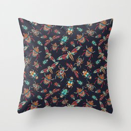 You bug me! Throw Pillow