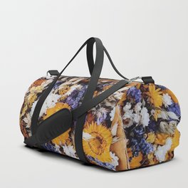 Fall Flowers Duffle Bag