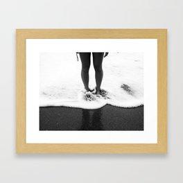Under Your Breath Framed Art Print