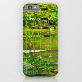 Landscape of My Heart (segment 3) iPhone Case