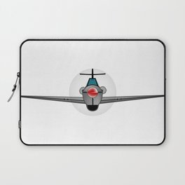 Old Style Fighter Aircraft Laptop Sleeve