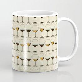 Vintage Wine Glasses Coffee Mug