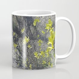 Forsythia in the Shadows Coffee Mug