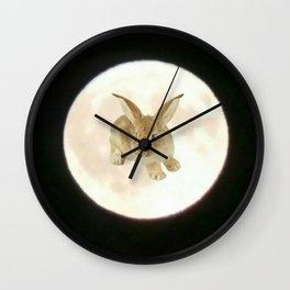 Moonrabbit 7 Wall Clock