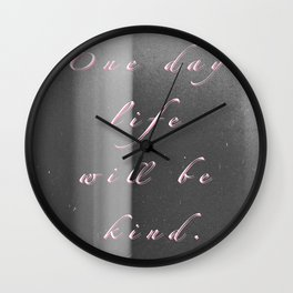 One Day Wall Clock