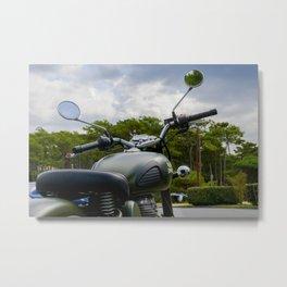Royal Enfield moto Metal Print