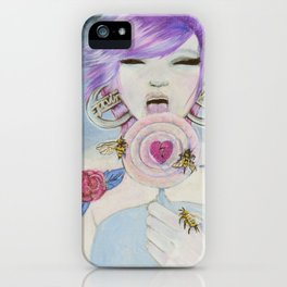 Pain and Love iPhone Case