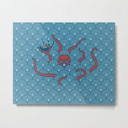 The Last Kraken Metal Print