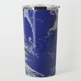 Marble Earth Pour Travel Mug