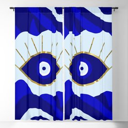 Lava All Seeing Evil Eye Blackout Curtain