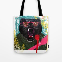 Grizzled Tote Bag
