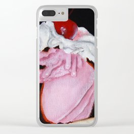 Two Scoops Clear iPhone Case