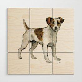Jack Russell Terrier Wood Wall Art