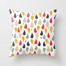 Ra'in Color Throw Pillow