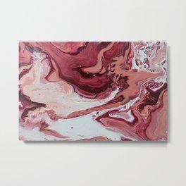 Pink Galaxy Metal Print