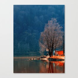 Gone fishing | waterscape photography Canvas Print