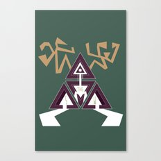 Shelter The Weak Triangles Canvas Print