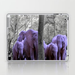 Purple guests Laptop & iPad Skin