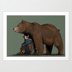 Vex and Trinket Art Print