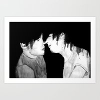 larry stylinson Art Prints featuring Larry by Vidility