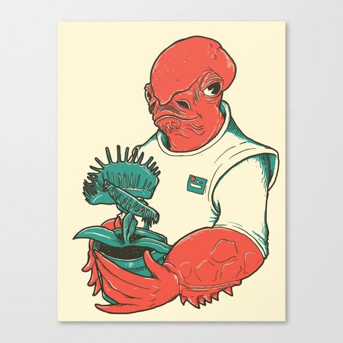 The Admiral's Trap Canvas Print