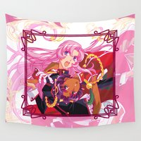 madoka Wall Tapestries featuring Utena La Filette Révolutionnaire by Neo Crystal Tokyo