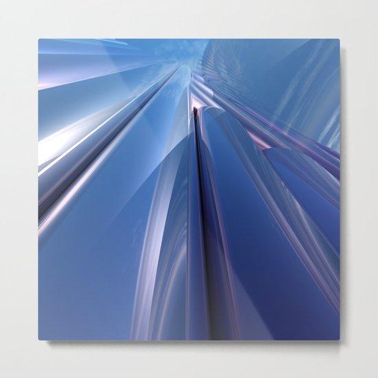 Skyward Reflections Metal Print