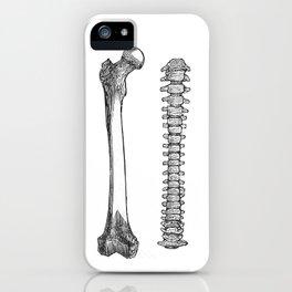 Femur spinal iPhone Case