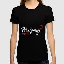 Mahjong Master - Mahjongg Player Gift T-shirt