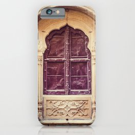 Haveli Window Jaisalmer Rajasthan iPhone Case