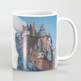 Castle on the Hill Matterhorn and Burg Eltz Castle in Germany Coffee Mug