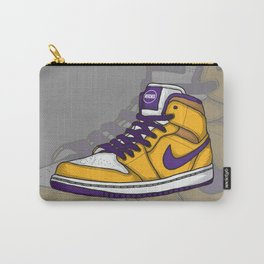 J1-Lakers Carry-All Pouch