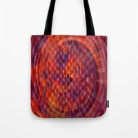 illusion Tote Bags featuring Illusion... by Cherie DeBevoise
