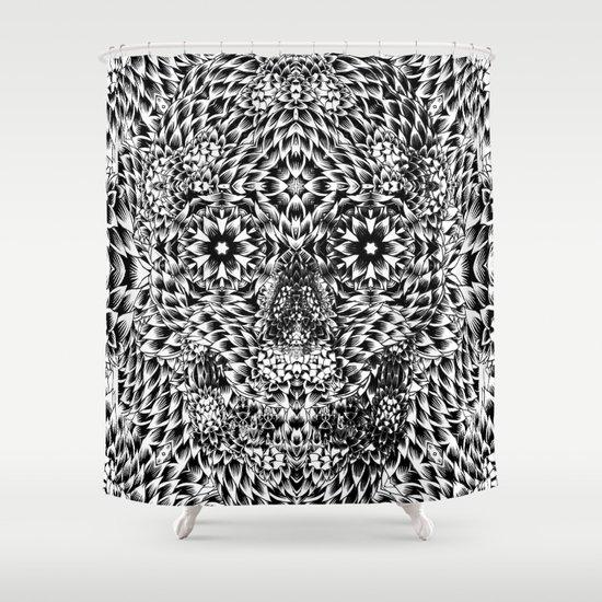 Skull VII Shower Curtain