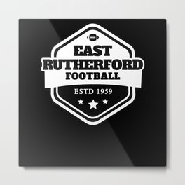 East Rutherford American Football Metal Print