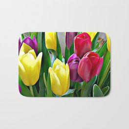 Tulips From Amsterdam Bath Mat