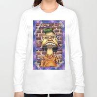 floyd Long Sleeve T-shirts featuring Floyd by cdeeryart