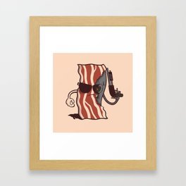 The Baconator Framed Art Print