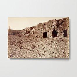 Turkey, 1870, Metal Print