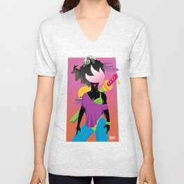 Bushido Betty Unisex V-Neck