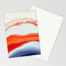 Clamshell Abstract Stationery Cards