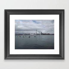 Spinnaker Tower, Portsmouth UK Framed Art Print