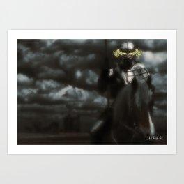 Poster - Knight 2 Art Print