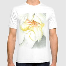 White Orchid Mens Fitted Tee White MEDIUM