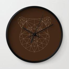 Poly-Bear Wall Clock