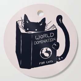 World Domination For Cats Cutting Board