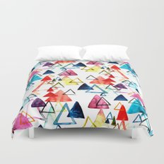 Triangle Party Duvet Cover