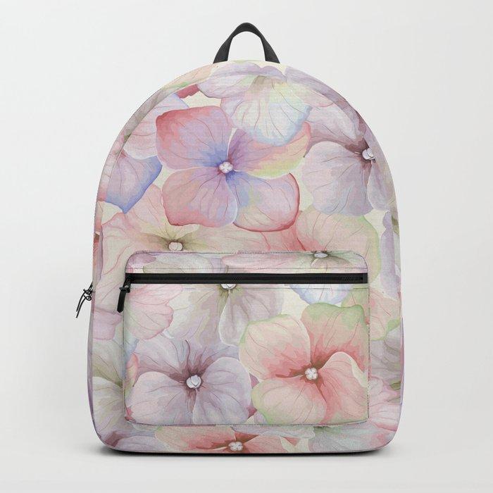 FLOWERS WATERCOLOR 18 Backpack