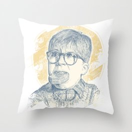 OH FUDGE RALPHIE! Throw Pillow